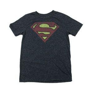 Gentlemen Short Sleeve Shirt Size L Superman